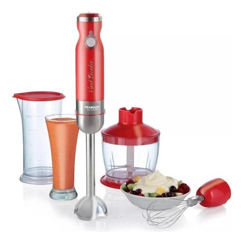 Mixer Peabody Smartchef Pe-lma327 Rojo 220v