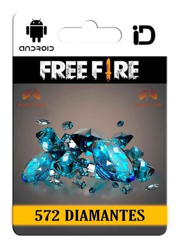 520 Diamantes Free Fire + 52 Bonus Entrega Inmediata!gamebag