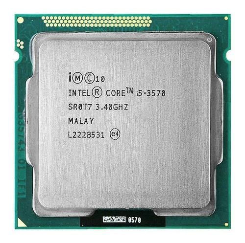 Processador Gamer Intel Core I5-3570 Bx80637i53570 De 4 Núcleos E 3.4ghz De Frequência Com Gráfica Integrada