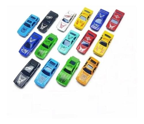 Kit Com 15 Carrinhos Coloridos Coleção Carros De Brinquedo