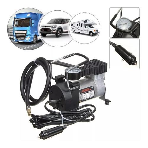 Mini Compressor Ar 12v Profissional Carro Onibus Suspensão 5