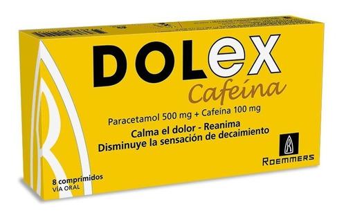 Dolex Cafeína X 8 Comprimidos