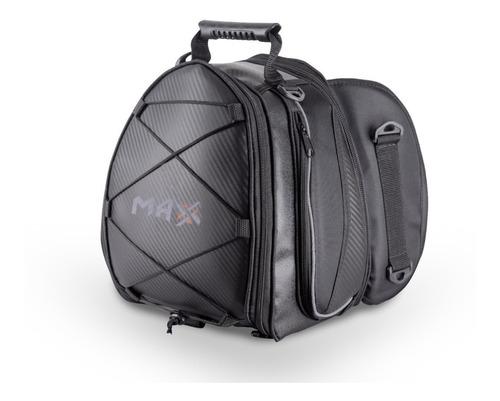 Mala Banco Traseiro Esportivo Max Bank Viagem Todas Motos