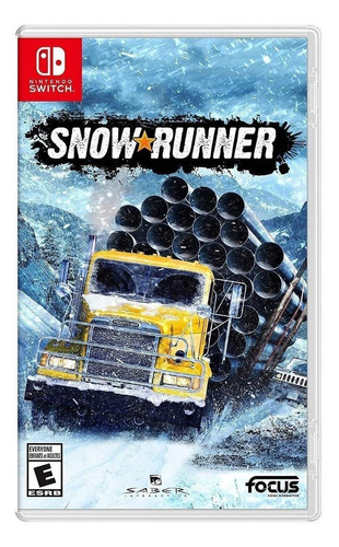 Snowrunner  Standard Edition Focus Home Interactive Nintendo Switch  Físico