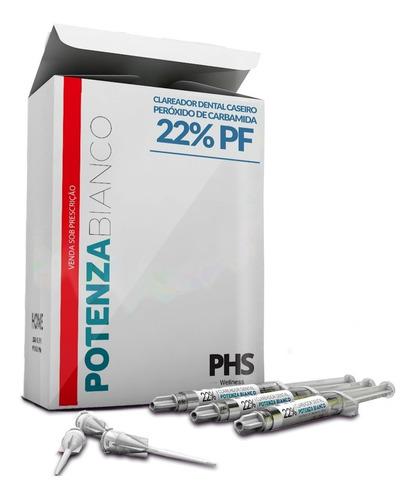 Clareamento Dental Caseiro 22% 3 Seringas +moldeira Potenza