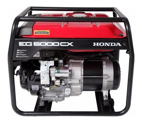 Generador Portátil Honda Eg5000cx 4500w Monofásico Con Tecnología Avr 220v