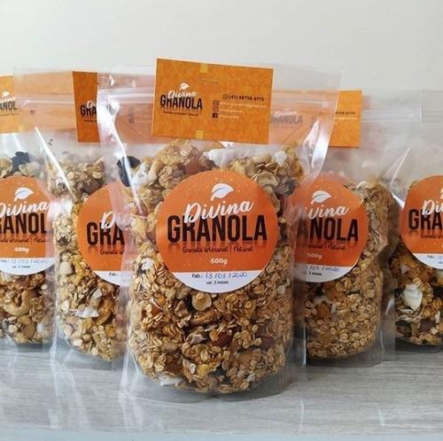 Divina Granola - Granola Premium Artesanal 500g