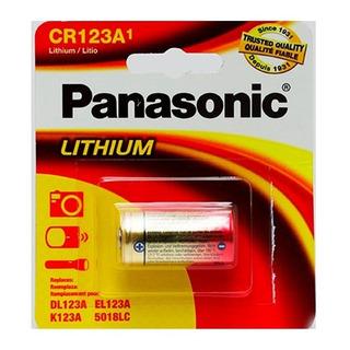 Panasonic Pila Bateria Cr 123 A Litio 3v Lithium Original