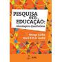Livro Pesquisa Em Educação Abordagens Qualitativas
