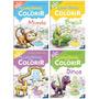 Livro Tapete Para Colorir 4 Und 98x68cm Todolivro