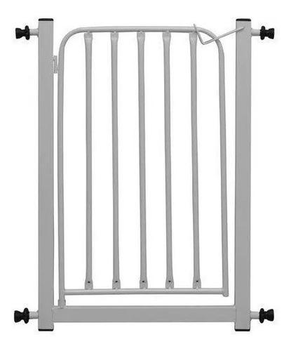 Grade Portão Proteção 69cm - 85cm Bebe Cachorro Escada Pet