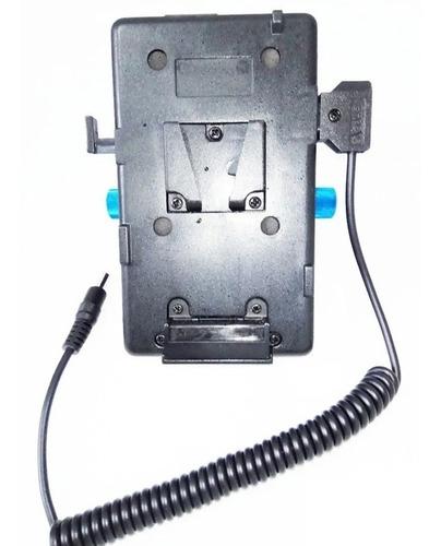 Placa Adaptador Bateria V-mount