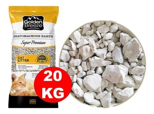 Piedras Sanitarias Para Gatos 20kg + 6 Pagos