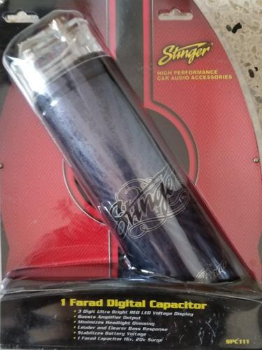 Capacitador Stinger 1 Faradio Nuevo En Caja Sellada