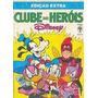 Livro Edição Extra Clube Dos Herói Disney