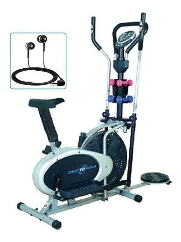 Bicicleta Elíptica Estática 5en1 Silla Monitor Sensor