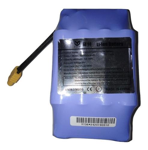 Bateria De Ion Litio 36v 4,4 Ah Recargable Patinetas Ebike