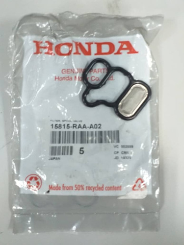 O Ring  Filtro Vtec Trasero Para Honda Cr-v Año 2004 Al 2006