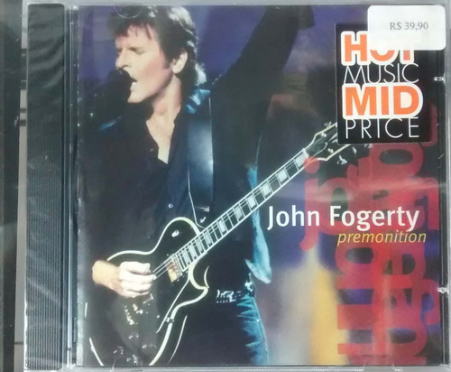 Cd John Fogerty - Premonition - Wea Original