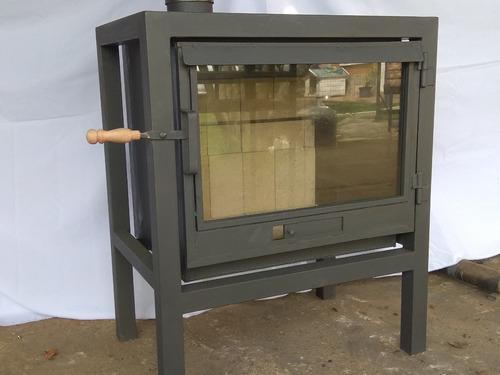 Calefactor A Leña Con Instalacion Gratis