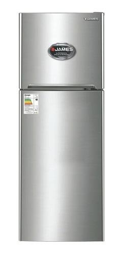 Heladera No Frost James Jn 400 Inox Con Freezer 317l 230v