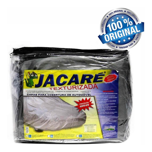 Capa Para Carro Jacaré Com Dispositivo De Ventilação Anti Uv