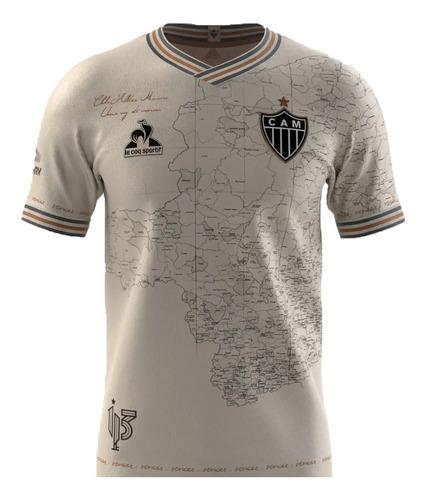 Camisa Atlético Mineiro Manto Da Massa Galo