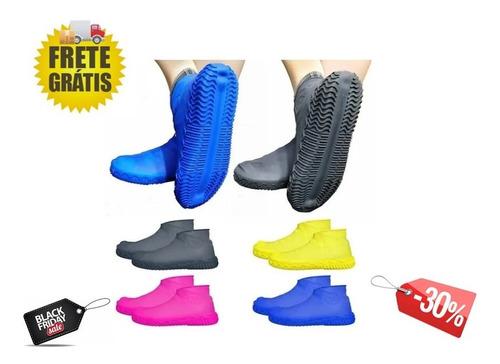 Protetor Capa Chuva Água Silicone Sapato Sapatilha Tênis
