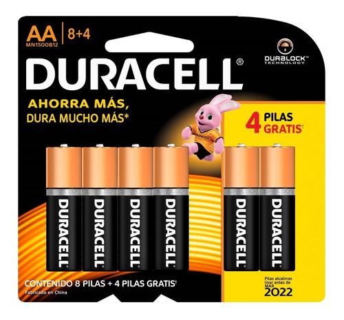 Pilas Batería Mn1500b2 Duracell Doble Aa Alcalina X12 Oferta