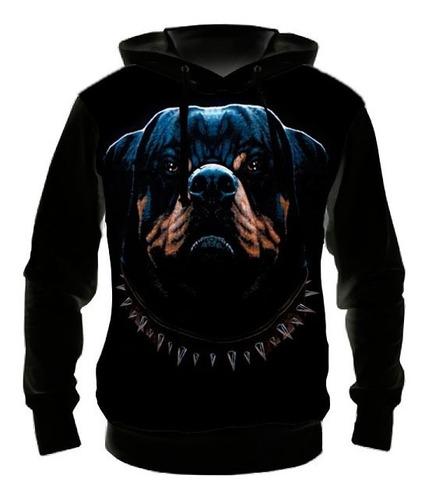 Blusa Moletom Cão Rottweiler M01 - Casaco De Frio
