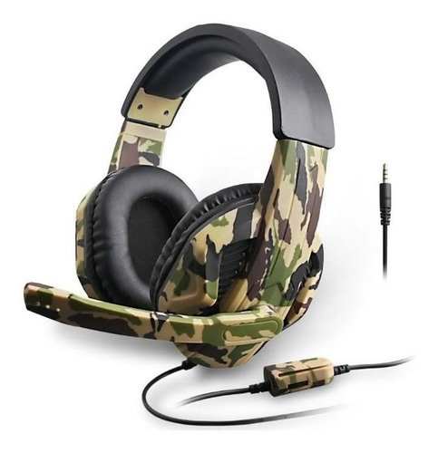 Fone Headset Camuflado Pc/xbox/ps4/switch