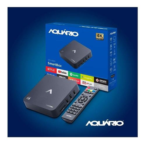 Smart Tv Box Aquario Stv 2000 4k Android
