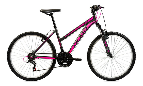 Mountain Bike Olmo Wish 265 R26 18  21v Frenos V-brakes Cambios Shimano Tourney Ty300 Color Negro/fucsia