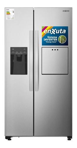 Heladera Inverter No Frost Enxuta Renx16600i Acero Inoxidable Con Freezer 532l 220v - 240v