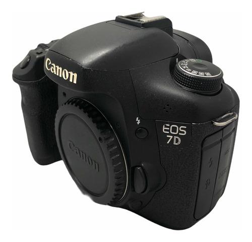 Canon 7d Corpo Seminova Nota Fiscal  Garantia 27,900 Cliques