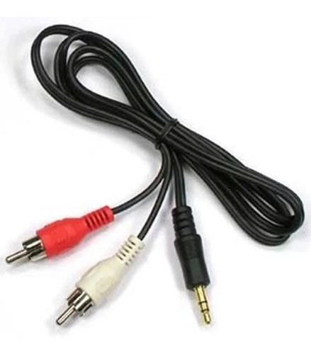 Cabo Auxiliar P2 Macho X Rca Macho Audio 1,5m Som