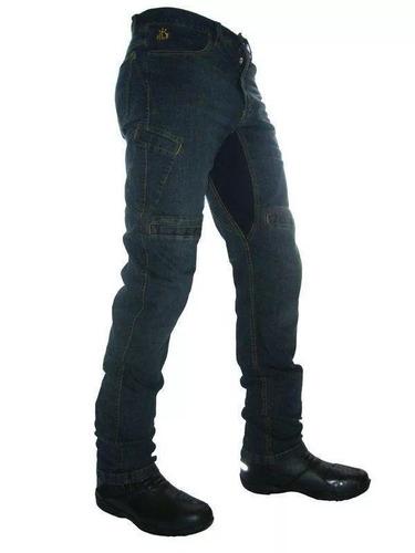 Calça Jeans Com Proteção Moto Masculina Hlx Spirit Confort