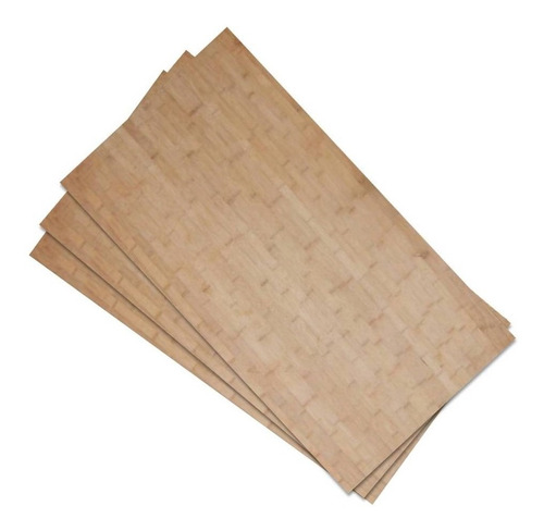 Chapas De Bambu Importadas 3mm E 5mm
