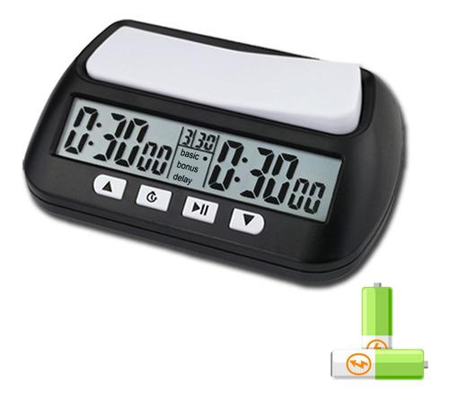 Relógio De Xadrez Profissional Portátil Multiuso 3 Em 1