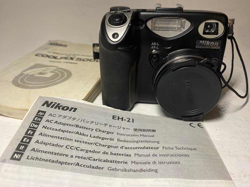 Camera Nikon Coolpix 5000 = Nikon Fm2 N~ Funciona Antiga