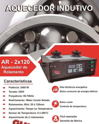 Aquecedor Indutivo De Rolamentos De Bancada Ar-2x65
