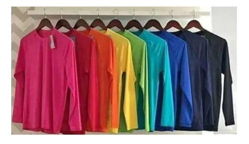 Kit 4 Blusas Termicas Masculina Proteção Uv 50+