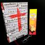 Bíblia Sagrada Jovem Masculino E Feminina Lettering Cruz Kit