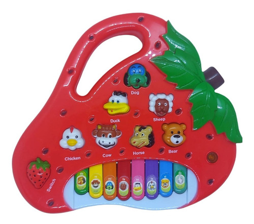 Teclado Piano Musical Bebê Brinquedo Infantil Divertido Drum