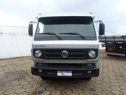 Vw  10160 Ano;2014/2014 Prata  Com Ar  Truck Unico Dono