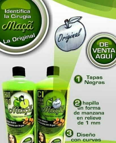 Celulas Madre Manzana Y Argan Cirugia Capilar 100% Original