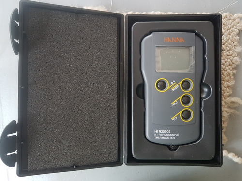 Termômetro Termopar Thermocouple Tipo K Hanna  Hi935005