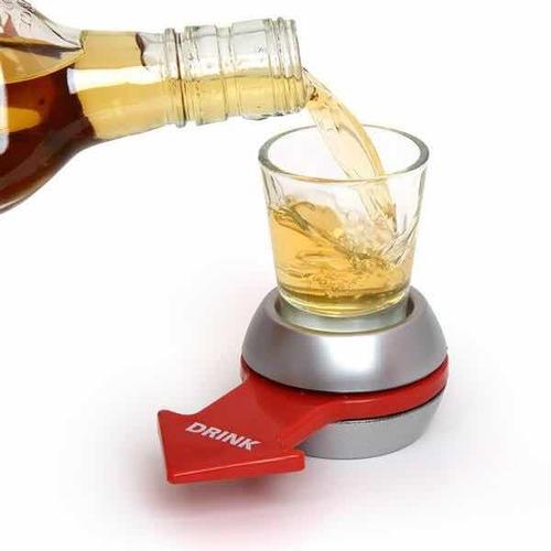 Ruleta Trago Spin The Shot Botella Juego Fiesta