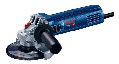 Miniamoladora Angular Bosch Professional Gws 9-125 Heavy Duty Azul 450 W 220 V