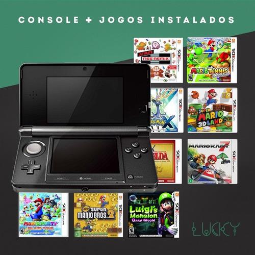 Nintendo 3ds + Jogos!